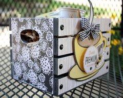 Barista Coffee Box by BasicGrey DT Member Shellye McDaniel