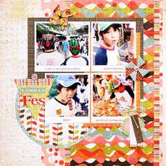 Summer Fes by Yohko Takiguchi featuring Konnichiwa from BasicGrey