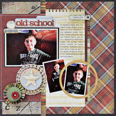 Old School by Lynne Gharay