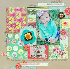 You get this look from Mommy by Megan Klauer