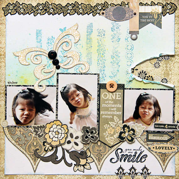 You Make Me Smile | Iris Babao Uy
