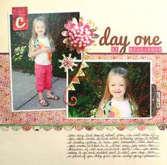 Day One of Preschool by Melanie Bauer