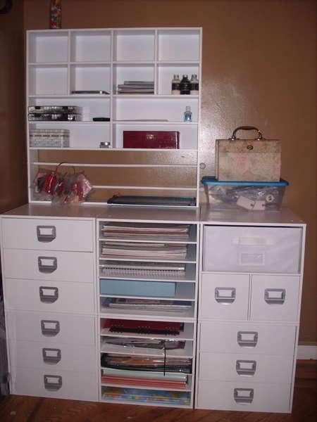 my scrapbook area