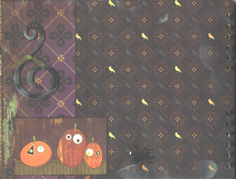 Cosmo Cricket Halloween Album