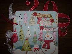 2008 Snowman Christmas Mini Album