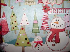 2008 Christmas Snowman  Mini Album