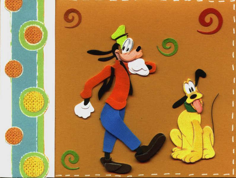 Goofy & Pluto