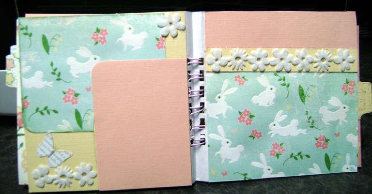 Easter Paper Bag album_Bind-It-All