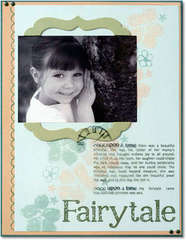 Fairytale *Technique Tuesday Clear Stamps*