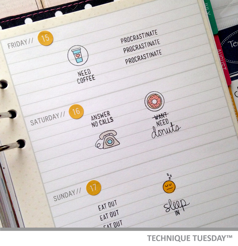 Weekly Planner Page