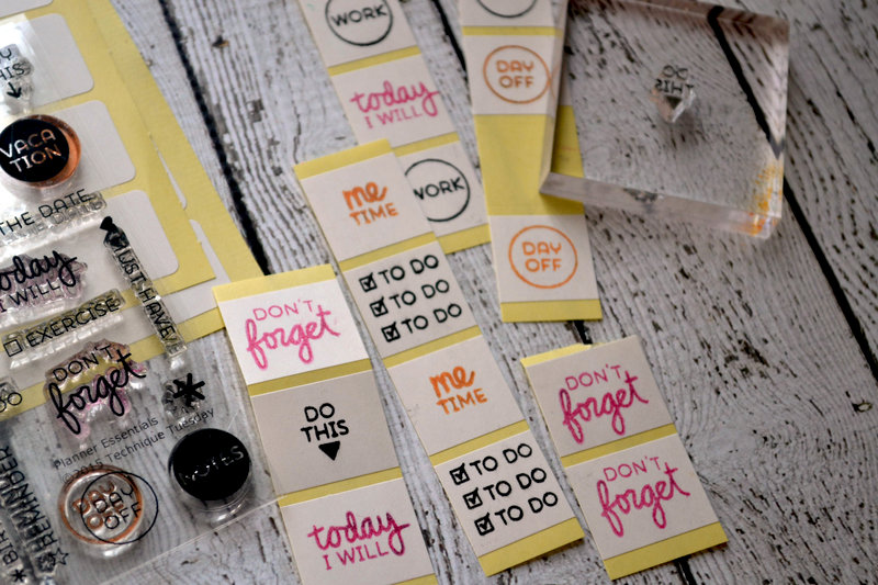 Planner Stickers  - Technique Tuesday