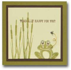 Toadally Happy For You