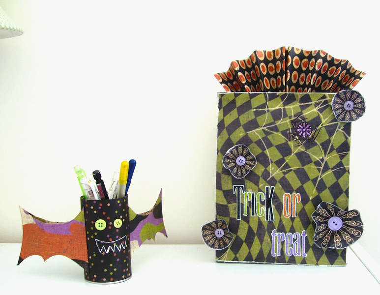Halloween Bag Set *RUSTY PICKLE*