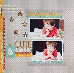 Cute & Sweet {Studio Calico Memoir}