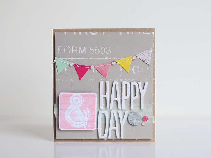 Happy Day *Studio Calico May kit*