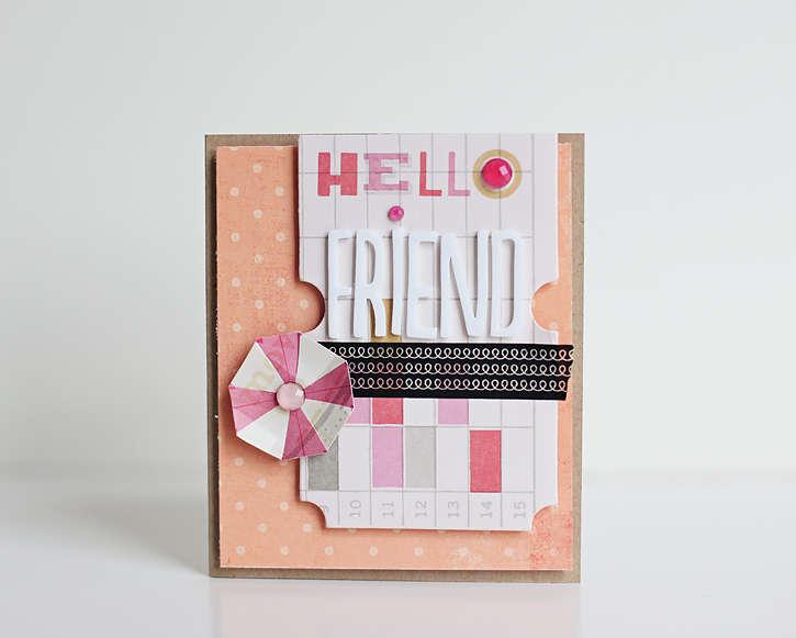 Hello Friend *Studio Calico's May kit*