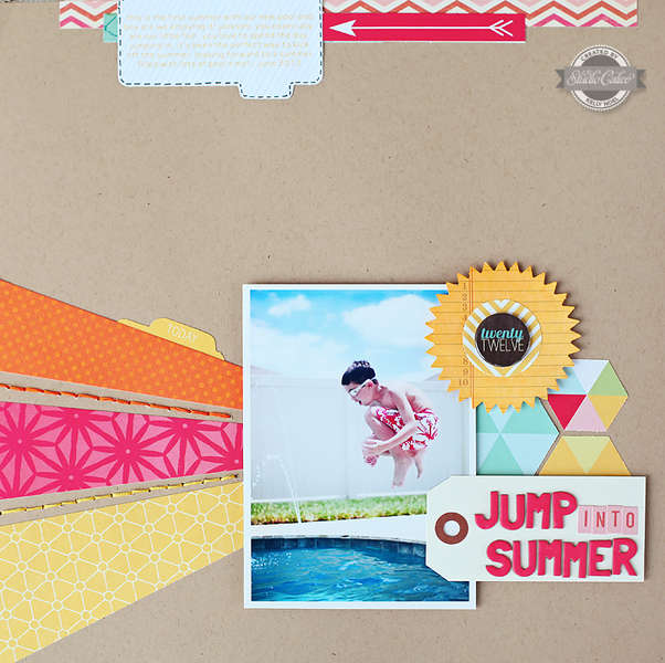 Jump Into Summer *Studio Calico August kit*