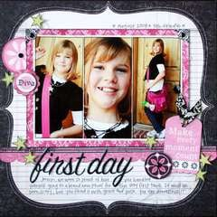 first day by Jana Eubank