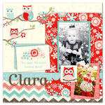 Clara featuring the Coral Nested Owl Collection from Adornit