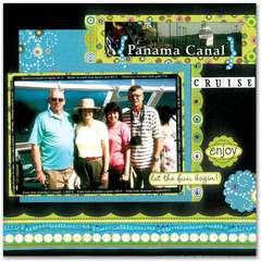 Panama Canal Cruise by Debbie Raymond