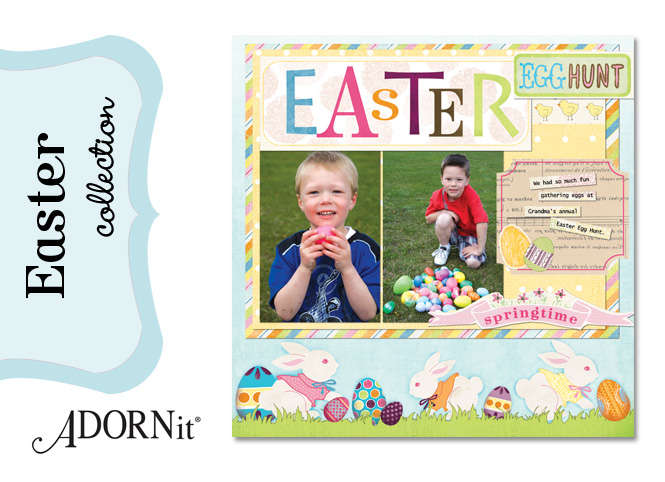 Introducing new the new Easter Collection from Adornit