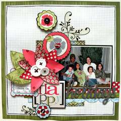 Happy by Frances Sylvia using Misty Collection
