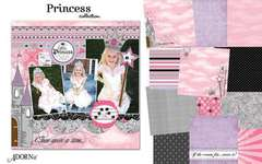 Princess from Adornit with Carolee's Creations