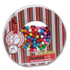 baseball candy shaker