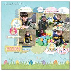 Easter Egg Hunt 2008