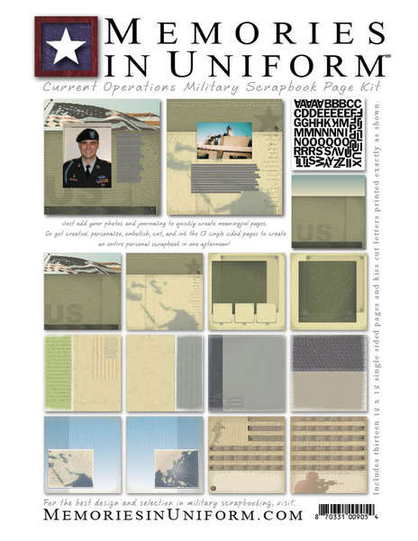 *NEW* Memories in Uniform Page Kits!