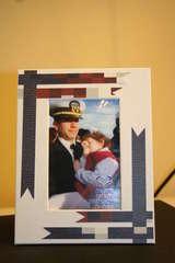 Memories in Uniform photo frame