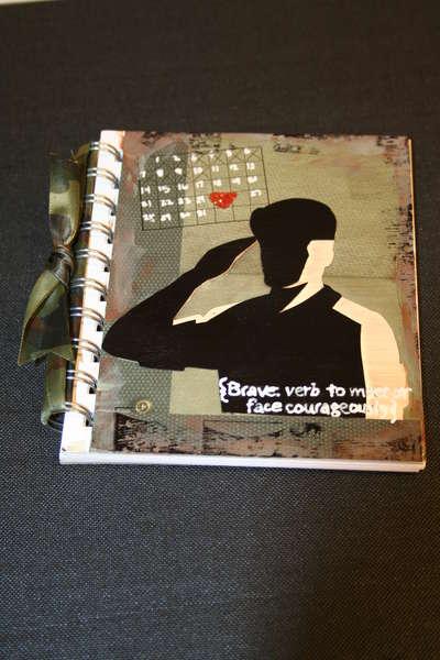 Memories in Uniform hero journal
