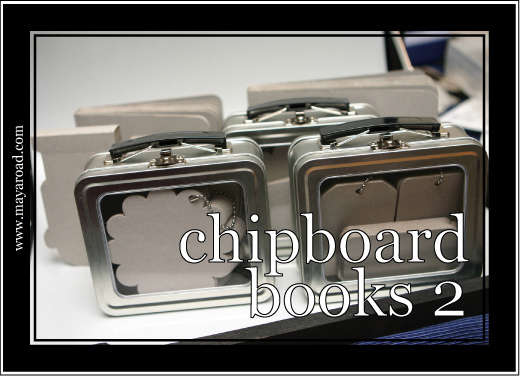 Maya Road Chipboard Books 2