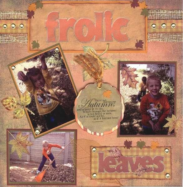 Autumn Frolic 2007 pg 2