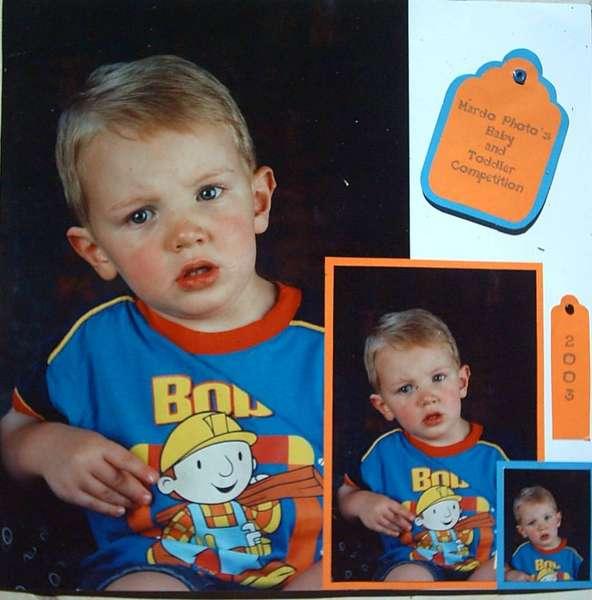 Mardo Photos Baby & Toddler Competition 2003