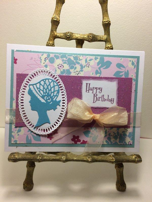 Classy Lady Birthday Card