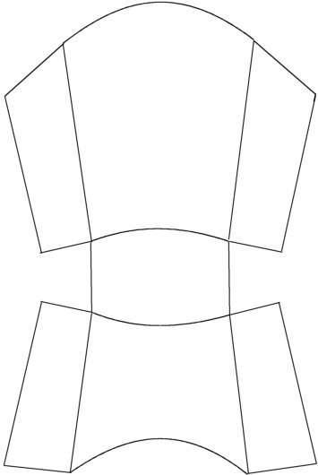 French Fry box Pattern