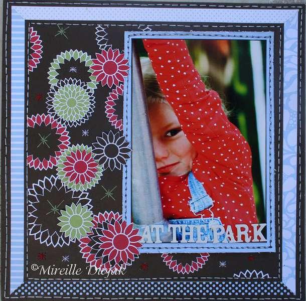At the park **Pebbles Inc.**
