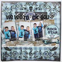 We will rock you ***Best Creations Inc.***