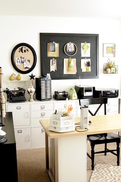 Jen Gallacher Craft Room Tour