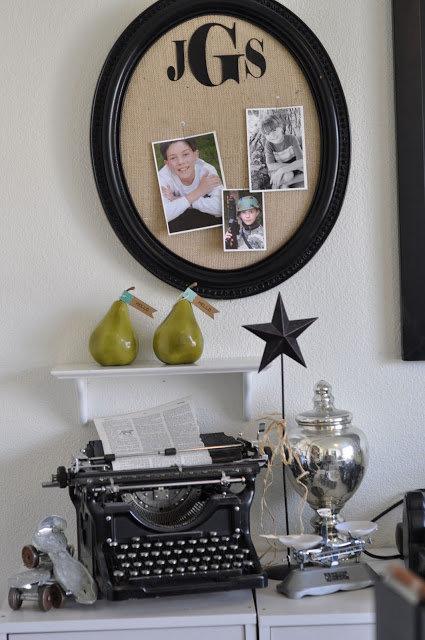 Jen Gallacher Craft Room Tour: Decorative Elements