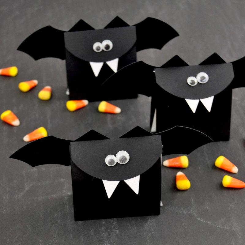 Silhouette Die Cut Bat Treat Bags