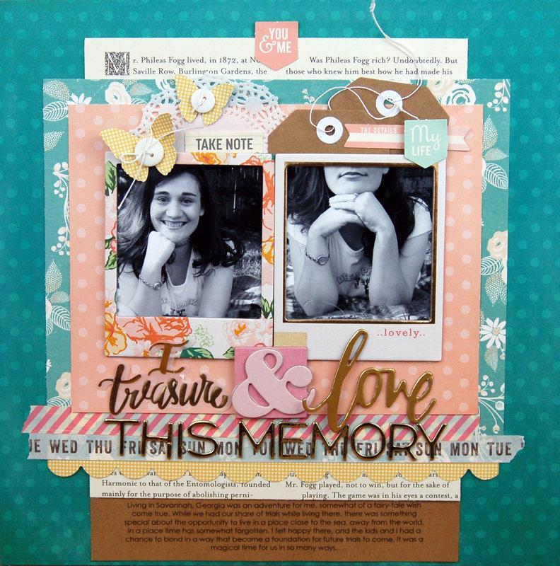 I Treasure and Love This Memory