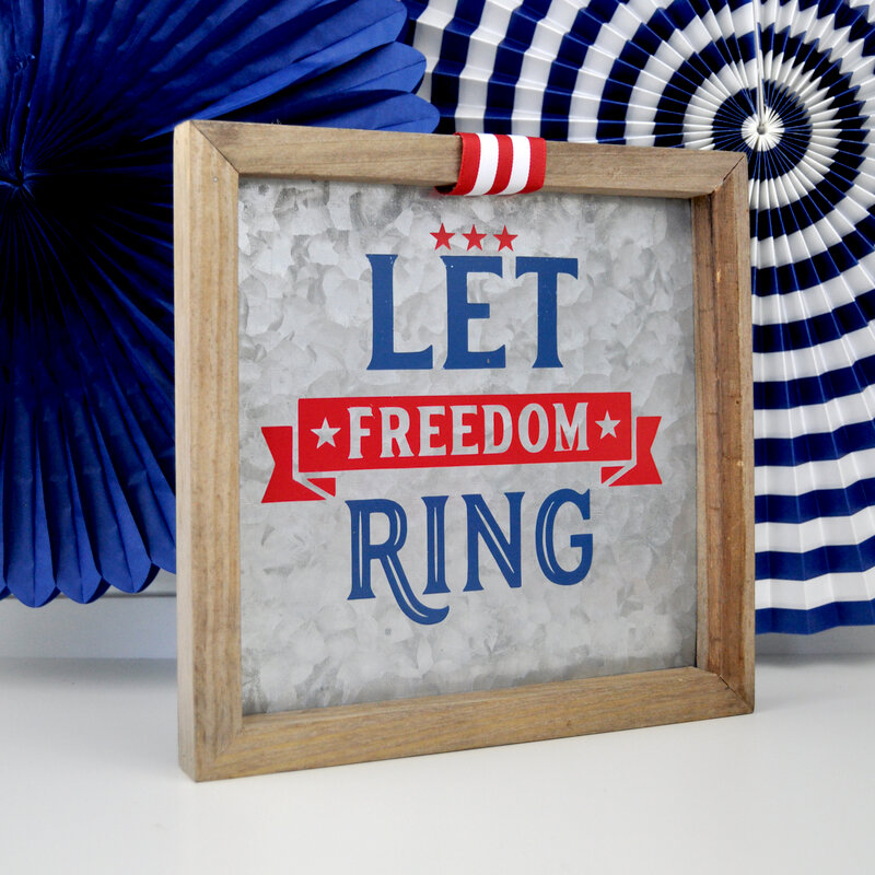 Let Freedom Ring  Sign *Jillibean Soup*