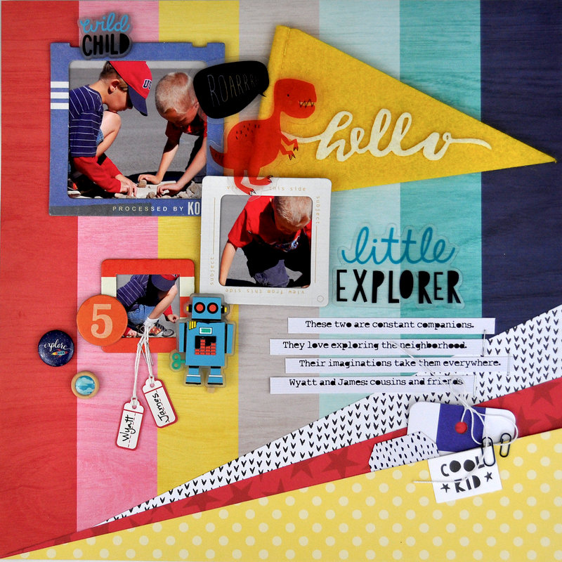 """""""Little Explorer"""" (includes video)"""