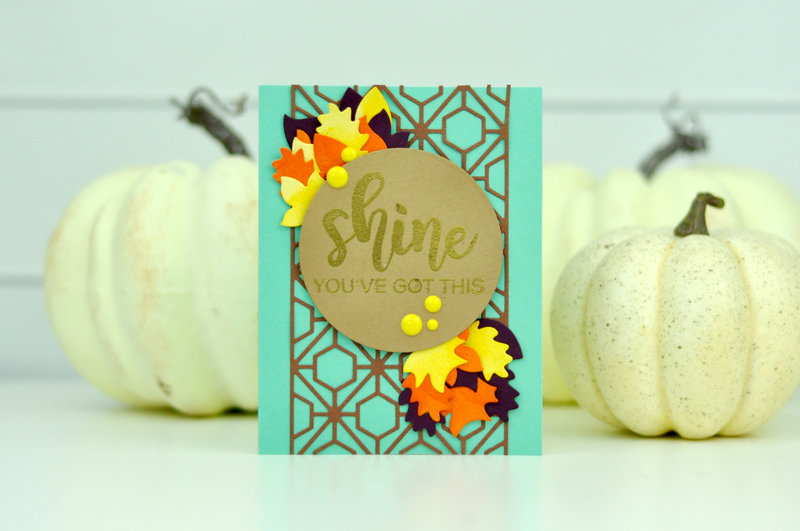 Spellbinders Shine Die Cut Card
