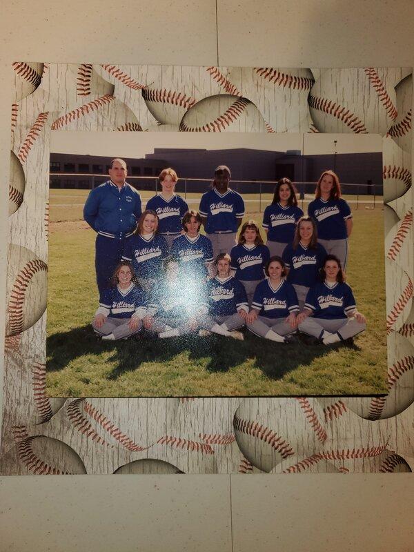 Angela High S softball  team