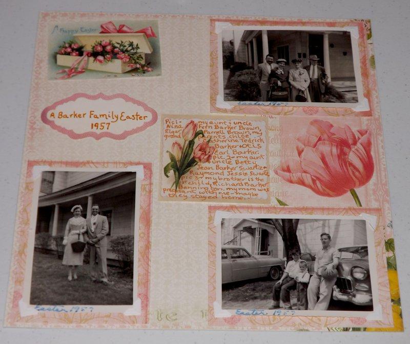 A Barker Family Easter 1957 Heritage Challenge June