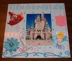 Cinderella's Castle 1987  pg 1 Bling Alert ! NSBD prizes