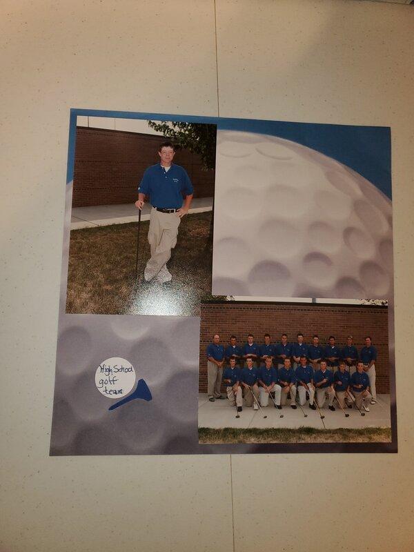 David  HS golf team